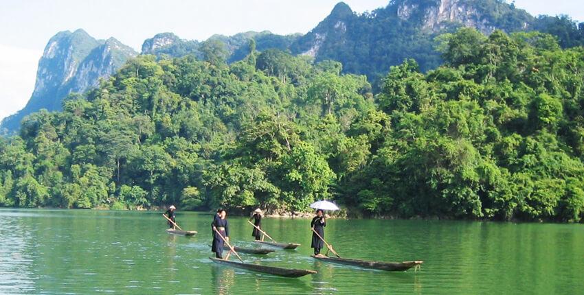 Le montagne magnifiche del Vietnam