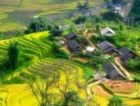 Homestay ad un villaggio a Sapa