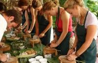 Una mezza giornata dedicata alla lezione di cucina in  Garden House